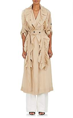 Victoria Beckham Women's Silk Charmeuse Trench Coat