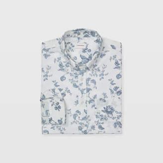 Club Monaco Slim Vintage Floral Shirt