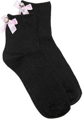 Aldo Pearl Bow Ankle Socks - Women's