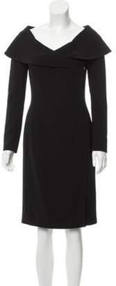 Ralph Lauren Knee-Length Sheath Dress Black Knee-Length Sheath Dress