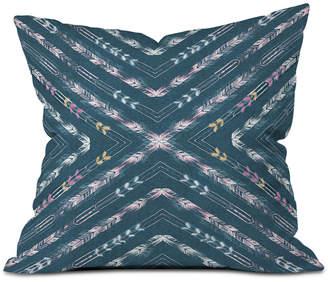 Deny Designs Pattern State Valencia Indigo Throw Pillow