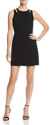 Aqua Cutout A-Line Dress - 100% Exclusive