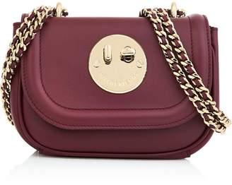 Hill & Friends Happy Tweency Chain Bag- Burgundy