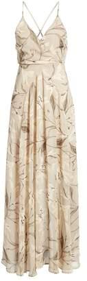 ASTR the Label Surplice Maxi Dress