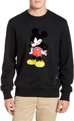 Rag & Bone Determined Mickey Mouse Unisex Sweatshirt