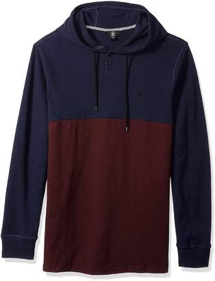 Volcom Men's Murphy Hooded Long Sleeve Thermal Shirt