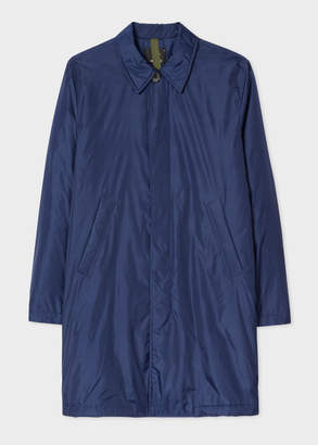 Paul Smith Men's Navy Packable Fully Lined Mac