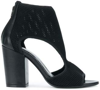 Strategia mesh cut out sandals