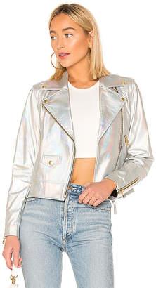 Mackage Baya Cropped Leather Jacket