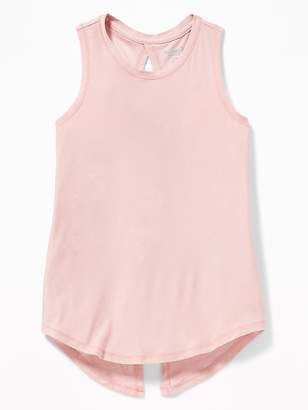 Old Navy Breathe ON Tie-Back Performance Tank for Girls