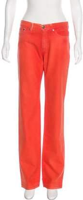 Versace VJC Mid-Rise Wide-Leg Pants