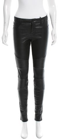 J Brand J Brand Leather Moto Pants w/ Tags