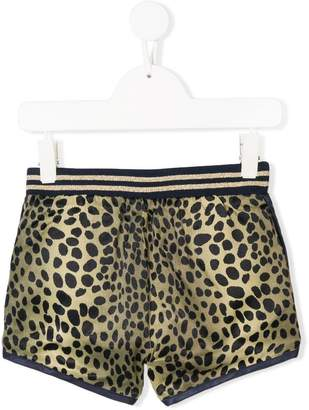 Little Marc Jacobs reversible animal print shorts