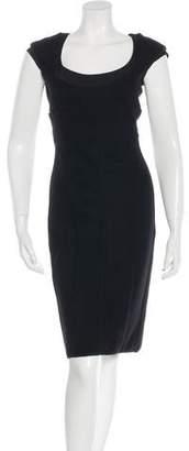 Narciso Rodriguez Sleeveless Wool Dress