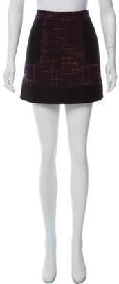 RED Valentino Bouclé Knit Mini Skirt