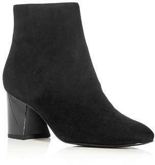 KENDALL + KYLIE Women's Hadlee Suede Block-Heel Booties - 100% Exclusive