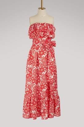 Lisa Marie Fernandez Sabine ruffle dress