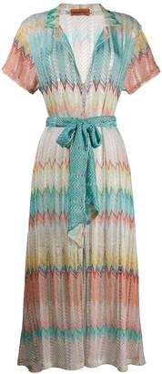 Missoni Mare embroidered shift dress