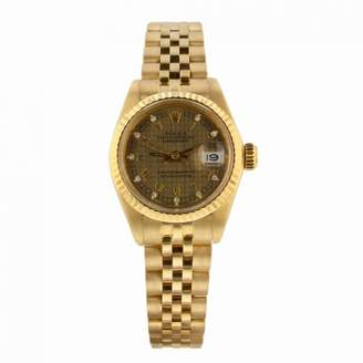 Rolex Lady DateJust 26mm Gold Yellow gold Watches