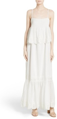 Women's Joie Rey Tiered Maxi Dress $388 thestylecure.com