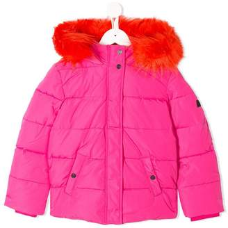 Kenzo padded hooded coat
