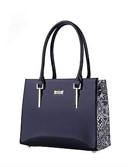 Azalea Serenade Leather Handbag