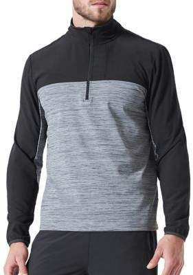 MPG Panel 2.0 Colorblock Zip-Up Pullover