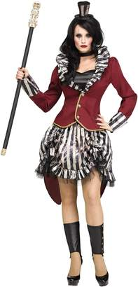 Fun World Costumes Fun World Women's Med/Lrg Freak Show Rngmstrss