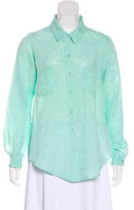 Calypso Button Down Linen Shirt