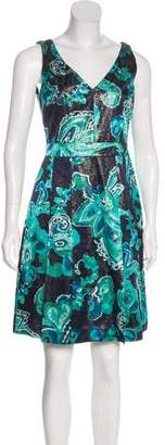 Tory Burch Floral Silk Dress