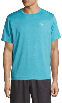 Fila Solid Crewneck T-Shirt