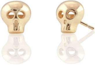 Kris Nations Skull Stud Earrings