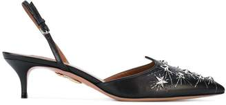 Aquazzura Cosmic Star slingbacks