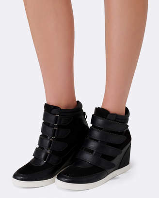 Forever New Kimmy Strap Wedge Sneakers