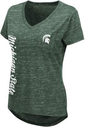 Women's Michigan State Spartans Wordmark Tee
