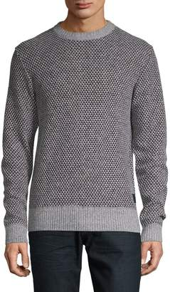 Buffalo David Bitton Textured Crewneck Sweater