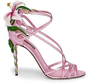 Dolce & Gabbana Dolce& Gabbana Women's Strappy Lily Leather Sandals