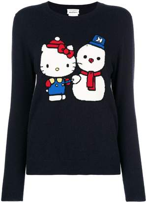 f35859656 Hello Kitty Chinti & Parker cashmere snowman sweater
