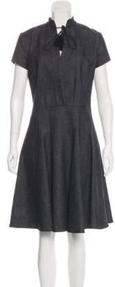 Derek Lam Midi A-Line Dress
