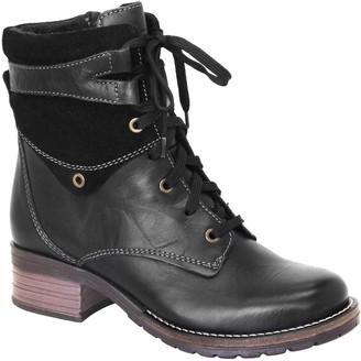 Dromedaris Leather Lace-Up Ankle Boots - Kara