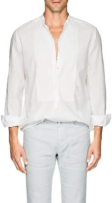 Massimo Alba Men's Cotton-Linen Shirt
