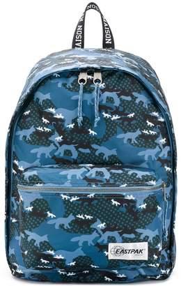 MAISON KITSUNÉ X Eastpak camouflage print backpack