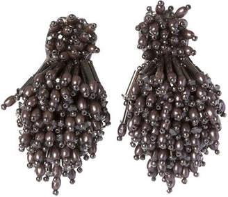 Mignonne Gavigan Beaded Oyster Statement Earrings KKlf99bfEZ