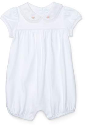Ralph Lauren Lace-Trimmed Cotton Shortall