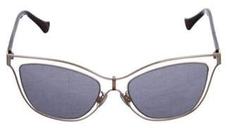 Balenciaga Tinted Cat-Eye Sunglasses