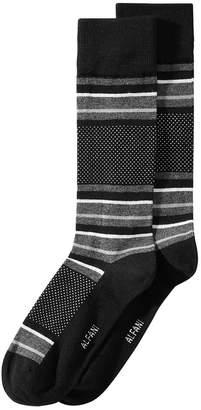 Alfani AlfaTech by Men Blocked-Stripe Dress Socks