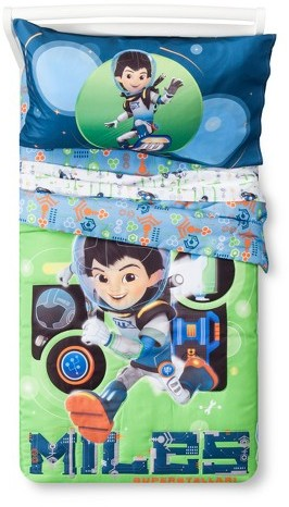 DisneyDisney Miles From Tomorrowland® Green & Blue Bedding Set (Toddler) 4pc