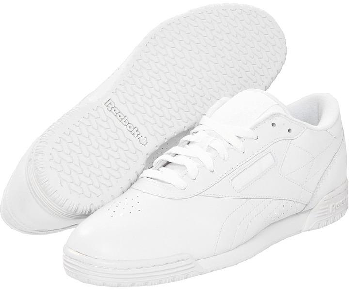 Reebok Lifestyle - Exofit Lo Clean Logo R12 (White/White/White) - Footwear