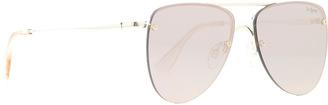Le Specs Prince Aviator Sunglasses $89 thestylecure.com