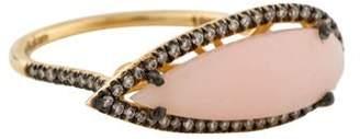 Suzanne Kalan 18K Pink Opal & Diamond Color Classics Ring